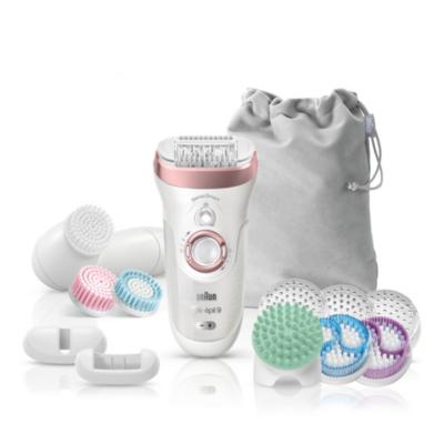 Braun  Silk-épil 9 Skin Spa 9-970 SensoSmart™ Epilierer mit 13 Extras roségold | 4210201190424