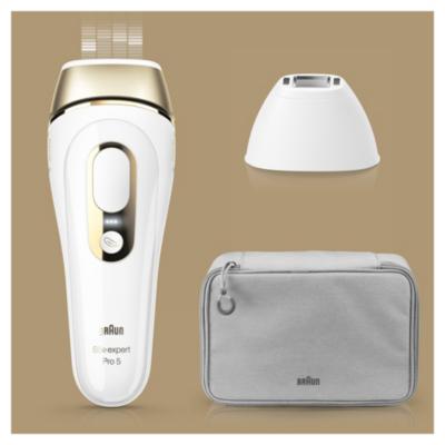 Braun  Silk-Expert Pro 5 PL5117 IPL-Haarentfernungsgerät weiß/gold + Venus-Rasier | 4210201212577