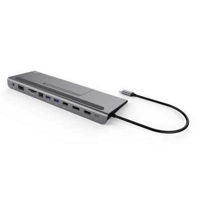 i-tec  USB-C Matal Low Profile 4K Triple Docking Station + 85W Power Delivery | 8595611702914