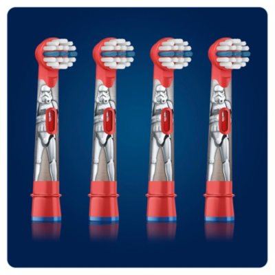 Oral-B  Stages Power Aufsteckbürsten StarWars (4er Pack) | 4210201160953