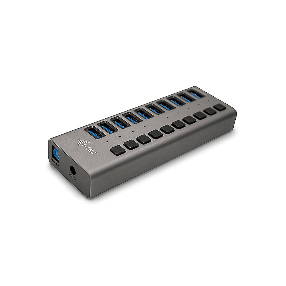 i-tec USB 3.0 Charging HUB 10 port + Power Adapter 48 W