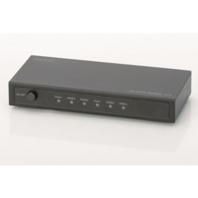 Digitus  DS-47304 4K HDMI Splitter, 1×4 | 4016032366232