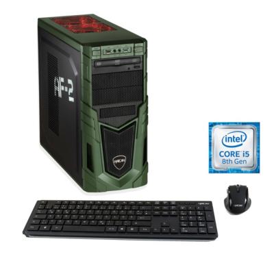 Hyrican  Military Gaming 6279 i5-8400 8GB/1TB 240GB SSD GTX 1660 Ti W10 | 4045643062790