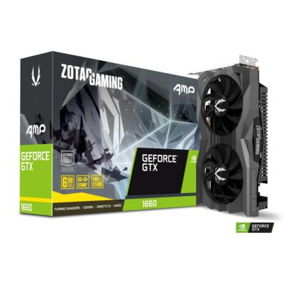 Zotac  GAMING GeForce GTX 1660 AMP! Edition 6GB GDDR5 Grafikkarte HDMI/3xDP | 4895173618109