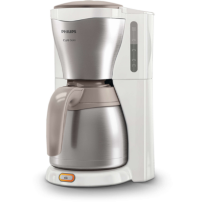 Philips  Gaia Collection HD7548/00 Kaffeemaschine Thermokanne, weiß/Edelstahl | 8710103644514