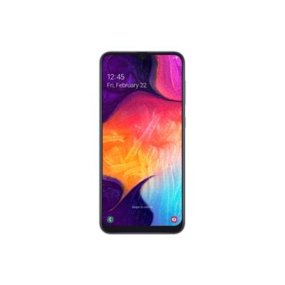 Samsung GALAXY A50 A505F Dual SIM white Android 9.0 Smartphone mit Triple Kamera auf Rechnung bestellen