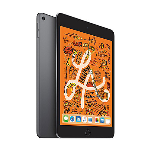 Apple iPad mini 2019 WiFi 64 GB Space Grau MUQW2FD A auf Rechnung bestellen