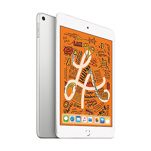 Apple iPad mini 2019 WiFi 64 GB Silber MUQX2FD/A
