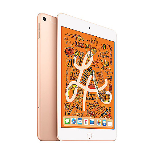 Apple iPad mini 2019 WiFi + Cellular 64 GB Gold MUX72FD/A