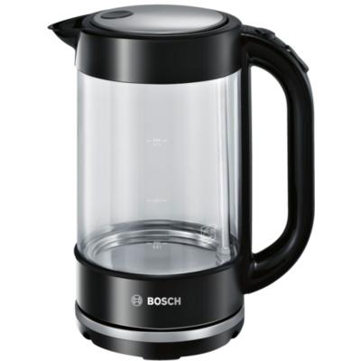 Bosch TWK70B03 Wasserkocher 1,7 Liter Glas schwarz