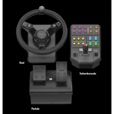 Logitech Gaming Logitech G SAITEK Farming Simulator Lenkrad Pedale und Seitenkonsole | 5099206081949