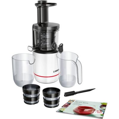 Bosch  MESM500W Entsafter Slow Juicer weiß/schwarz | 4242002956015