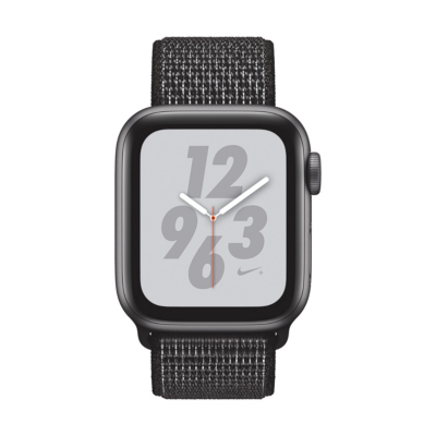 Apple Watch Nike GPS 40mm Aluminiumgehäuse Space Grau Sport Loop Schwarz auf Rechnung bestellen
