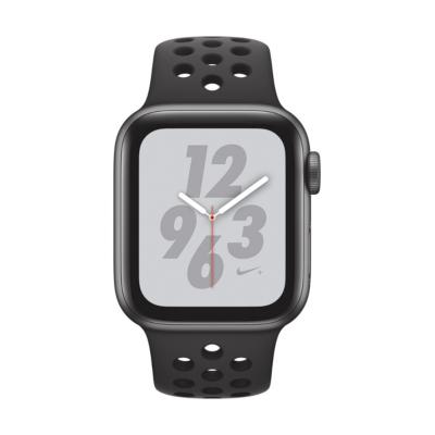 Apple Watch Nike GPS 40mm Aluminiumgehäuse Space Grau Sportarmband Schwarz auf Rechnung bestellen