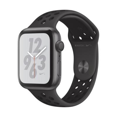 Apple Watch Nike GPS 44mm Aluminiumgehäuse Space Grau Sportarmband Schwarz auf Rechnung bestellen