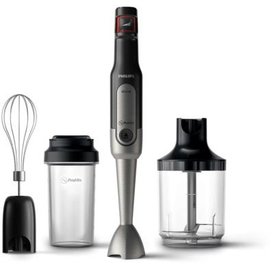 Philips HR2652/90 Stabmixer, 800W + Trinkflasche/Mixbehälter, Schneebesen