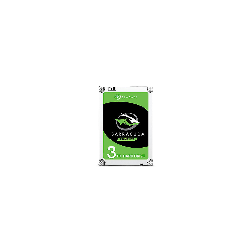 Seagate BarraCuda HDD ST3000DM007 - 3TB 256MB 3.5zoll SATA600