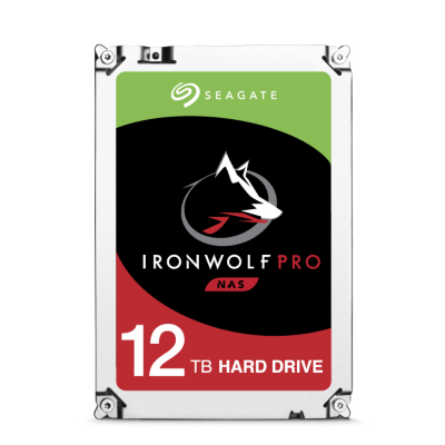 Seagate  IronWolf Pro NAS HDD ST12000NE0007 12TB 7200rpm 256MB SATA600   8592978085162