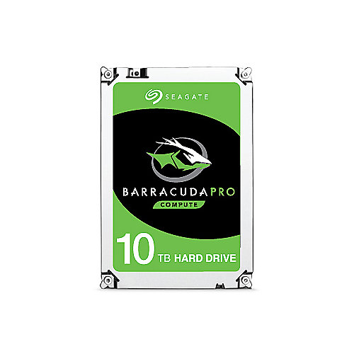 Seagate BarraCuda Pro HDD ST10000DM0004 - 10TB 7200rpm 3.5zoll