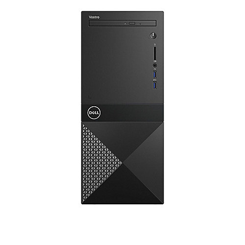 DELL Vostro 3670 MT - i3-8100 4GB/1TB HDD Intel HD630 DVD±ROM WLAN W10P