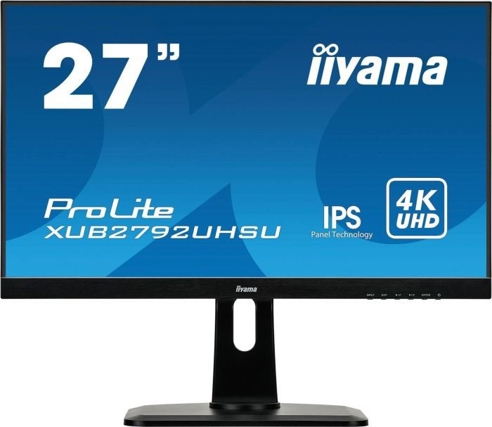 """iiyama ProLite XUB2792UHSU-B1 68,4cm (27"""") 16:9 4K UHD DVI ..."""