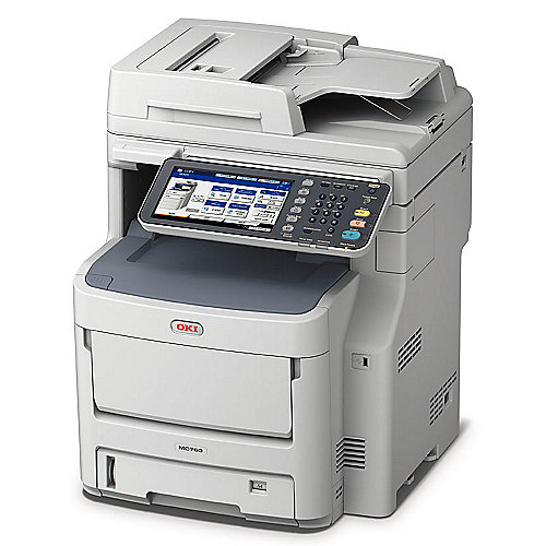 OKI MC760dn LED-Multifunktionsfarblaserdrucker Scanner Kopierer Fax LAN
