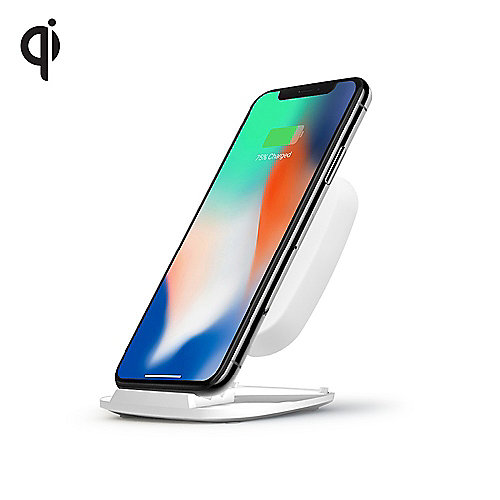 Zens Ultra Fast Wireless Charger Stand 10W Qi weiß ZESC06W/00