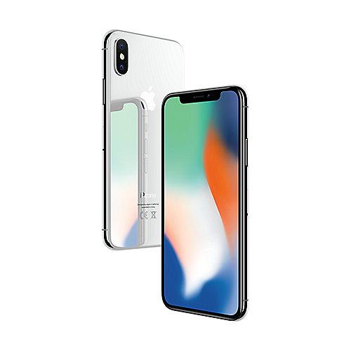 Apple iPhone X 64 GB Silber MQA62ZD A auf Rechnung bestellen
