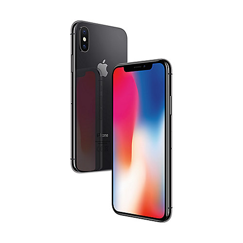 Apple iPhone X 256 GB Space Grau MQA82ZD A auf Rechnung bestellen