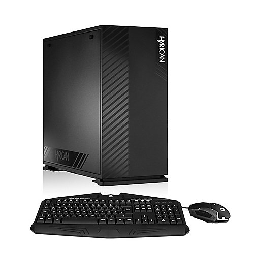 Hyrican Alpha 6319 PC Ryzen 5 2600 16 GB 480 GB/1TB Nvidia GeForce RX 580 Win 10