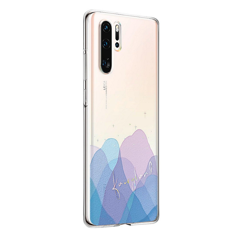 Huawei P30 pro Clear Case Iridescent Transparent