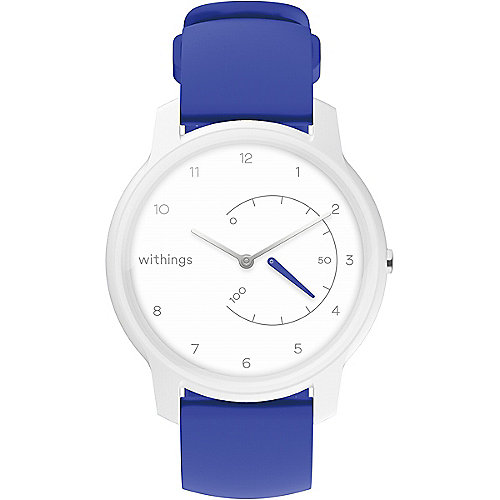 Withings Move White & Blue Aktivitätstracker Uhr iOS Android