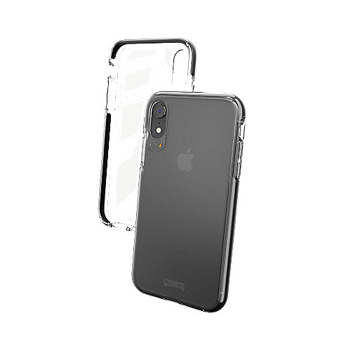 Gear4 Piccadilly für Apple iPhone XR transparent/schwarz