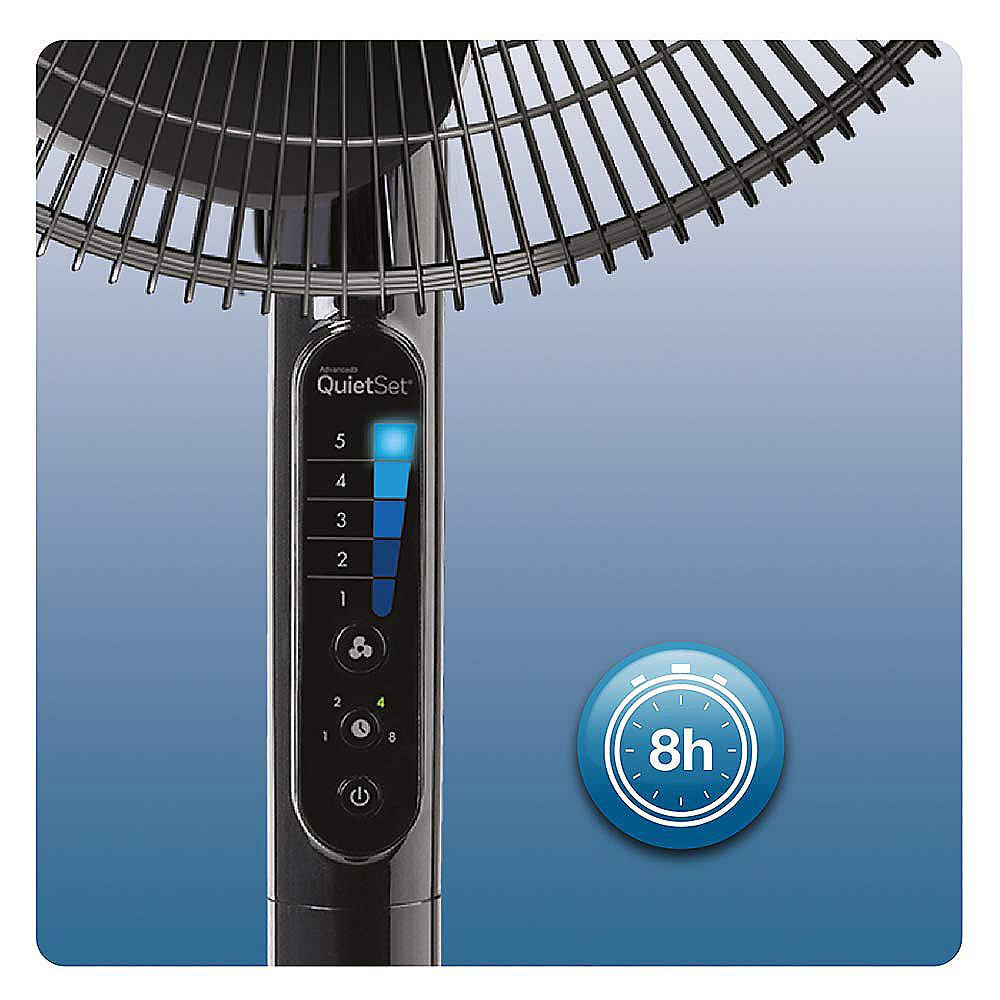 Ventilator Honeywell HSF600BE4 QuietSet schwarz