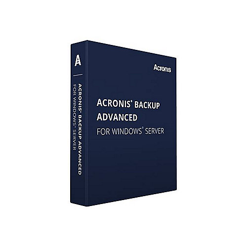 Acronis Backup Advanced f.Windows Server V11.5, 5-14 User Lizenz + MNT AAS