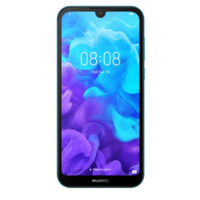 HUAWEI Y5 2019 Dual SIM sapphire blue Android 9.0 Smartphone