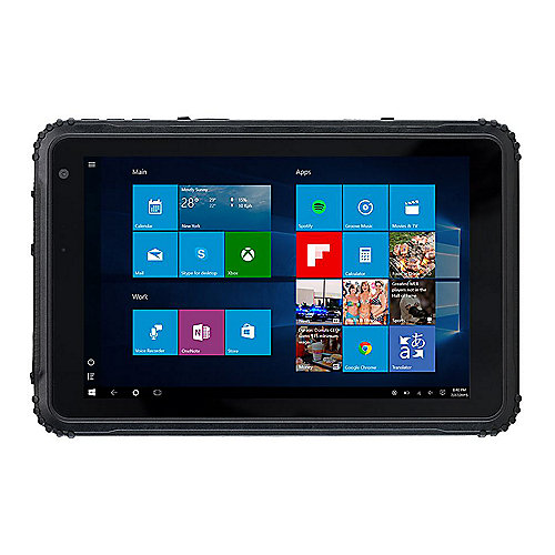 "CAT T20 Tablet 8"" LTE 64 GB WXGA IPS LCD Windows 10 schwarz"