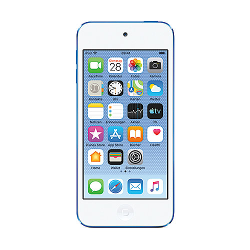 Apple iPod touch 128 GB 7. Generation 2019 Blau - MVJ32FD/A