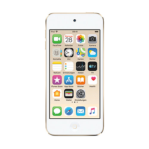 Apple iPod touch 128 GB 7. Generation 2019 Gold - MVJ92FD/A