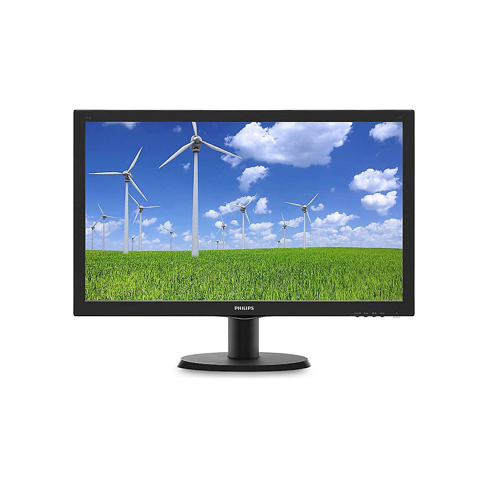 "Philips 243S5LDAB/00 60cm (24"") FullHD Monitor TN-LED 16:9 HDMI/VGA/DVI 1ms"