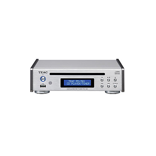 TEAC PD-301DAB-X CD-Player/DAB/UKW Tuner silber