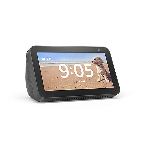 Amazon Echo Show 5 (black) Kompaktes 5,5-Zoll Smart-Display mit Alexa schwarz