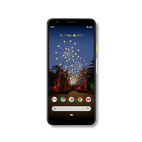 Google Pixel 3a clearly white 64 GB Android 9.0 Smartphone