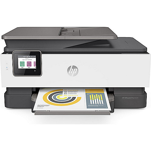 HP OfficeJet Pro 8022 Multifunktionsdrucker Scanner Kopierer Fax WLAN LAN