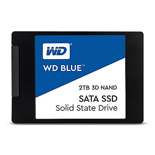 "WD Blue 3D NAND SATA SSD 2TB 6Gb/s 2.5""/7mm"