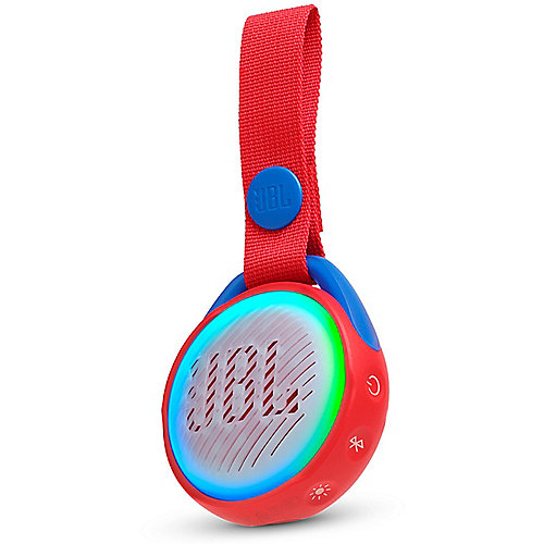 JBL JR Pop rot Tragbarer Bluetooth-Lautsprecher f. Kinder wasserdicht nach IPX7