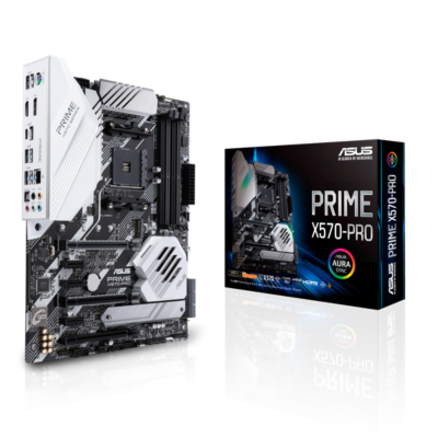 ASUS Prime X570-Pro ATX Mainboard Sockel AM4 HDMI DP USB3.2 M.2