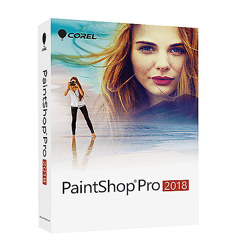 *COREL PaintShop Pro 2018 (DE) MiniBox