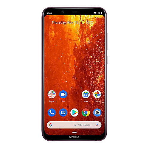 Nokia 8.1 64GB iron/steel mit Android One