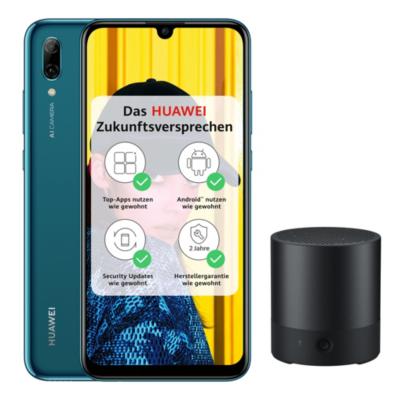 HUAWEI P smart 2019 sapphire blue Android 9.0 Smartphone 1x MiniSpeaker CM510